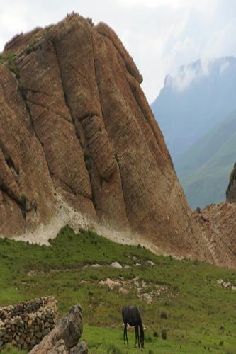 Trail Ride in Drakensberg with Khotso
