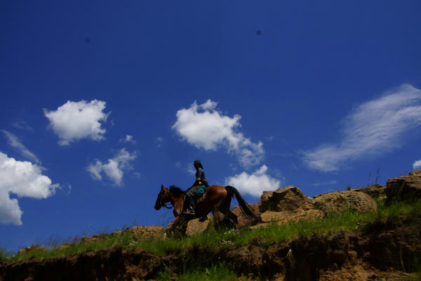 Trail Ride in Drakensberg with Khotso